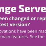 Exchange Server Update